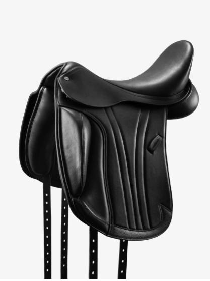 Marseille Leather Monoflap Dressage Saddle - Premier Equine